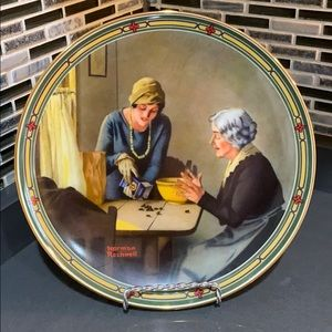"Norman Rockwell ""A Family's Full Measure"" Plate"